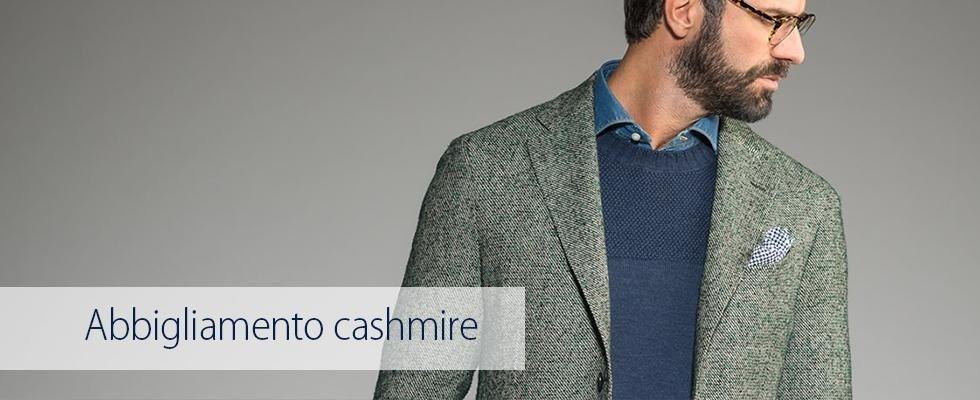 abbigliamento cashmire
