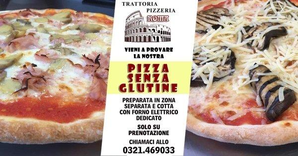 pizza senza glutine