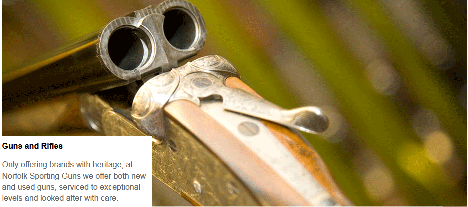To find hunting gifts and accessories in Wymondham call Norfolk Sporting Guns