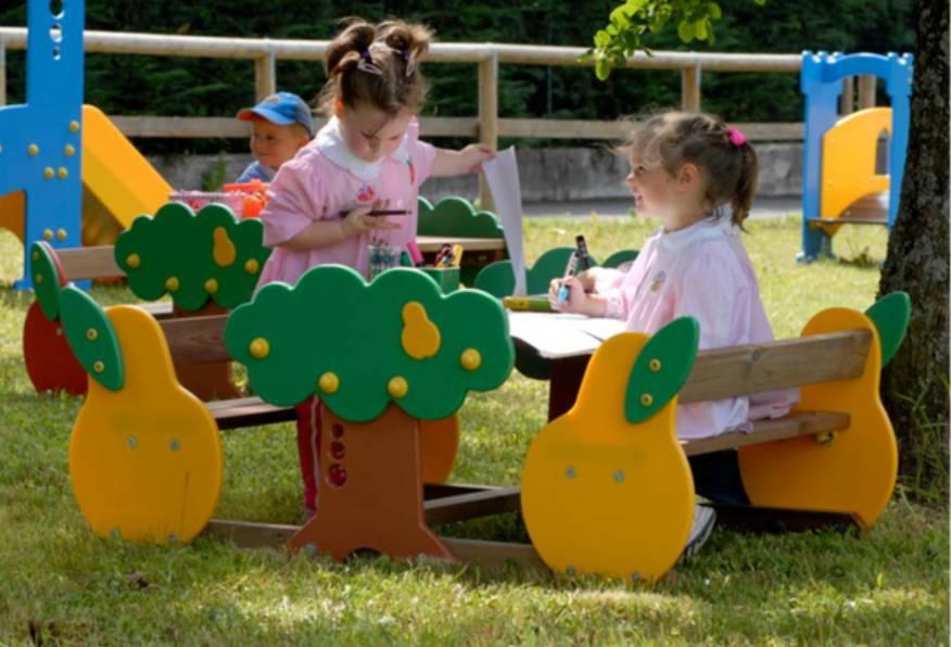 Attrezzature per esterni roma r a u romana arredo urbano for Addobbi natalizi per scuole materne