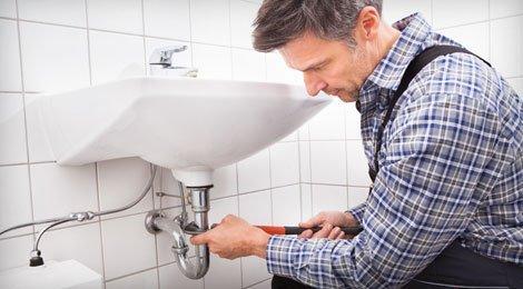 Repairing sink