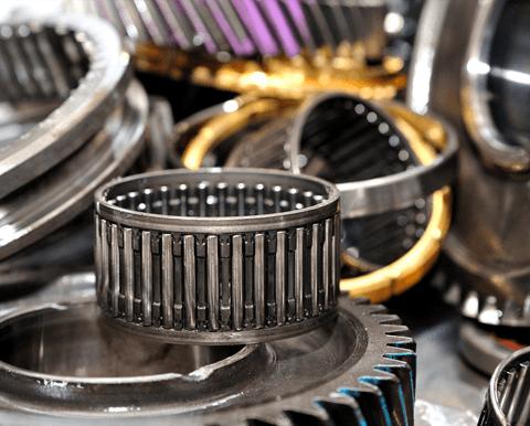 bearings on display