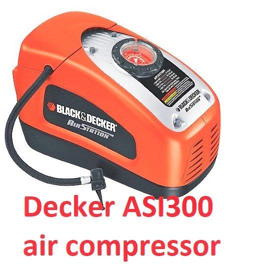 Black Amp Decker Asi300 Air Station 12 Volt Or 120 Volt
