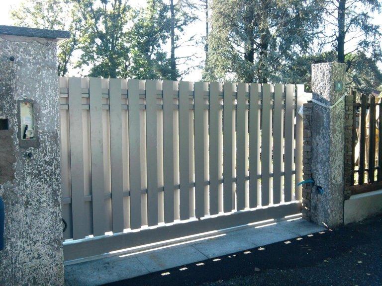 Cancelli e recinzioni in alluminio