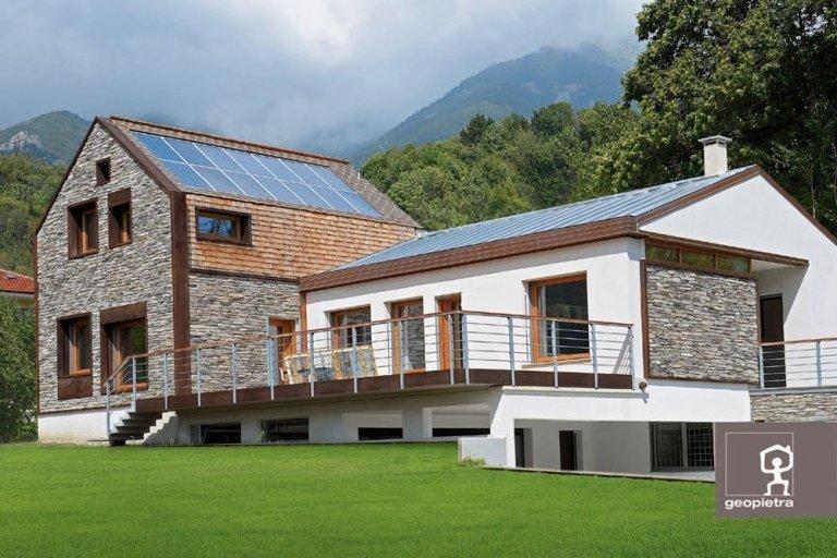 Rivestimento Esterno Casa Moderna : Rivestimenti per esterni como vidori habitas srl