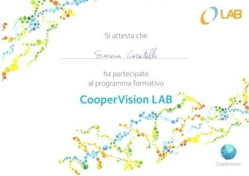 Cooper vision lav Simone Locatelli