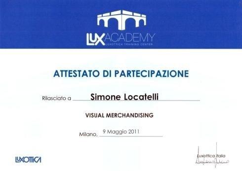 Visual merchandising Simone Locatelli