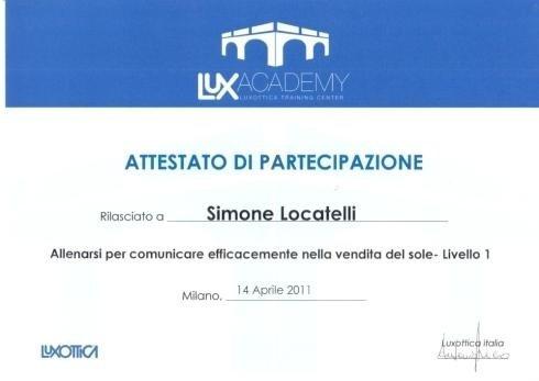 Staff training Simone Locatelli