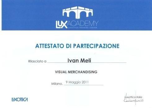 Visual merchandising Ivan Meli