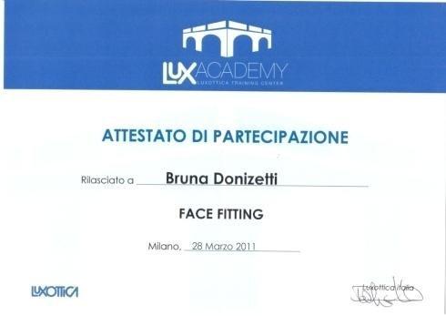 Face fitting Bruna Donizetti