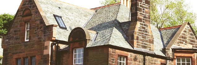 Property with a slate roof