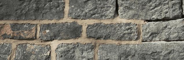 Stone wall repair