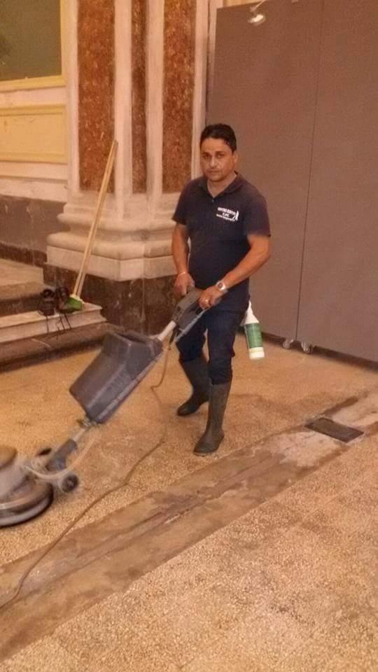 trattamento e lucidatura pavimenti
