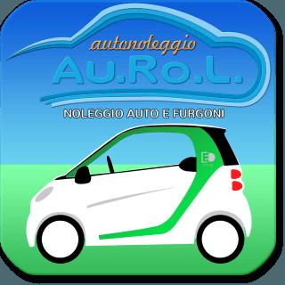 una logo con vista di macchina