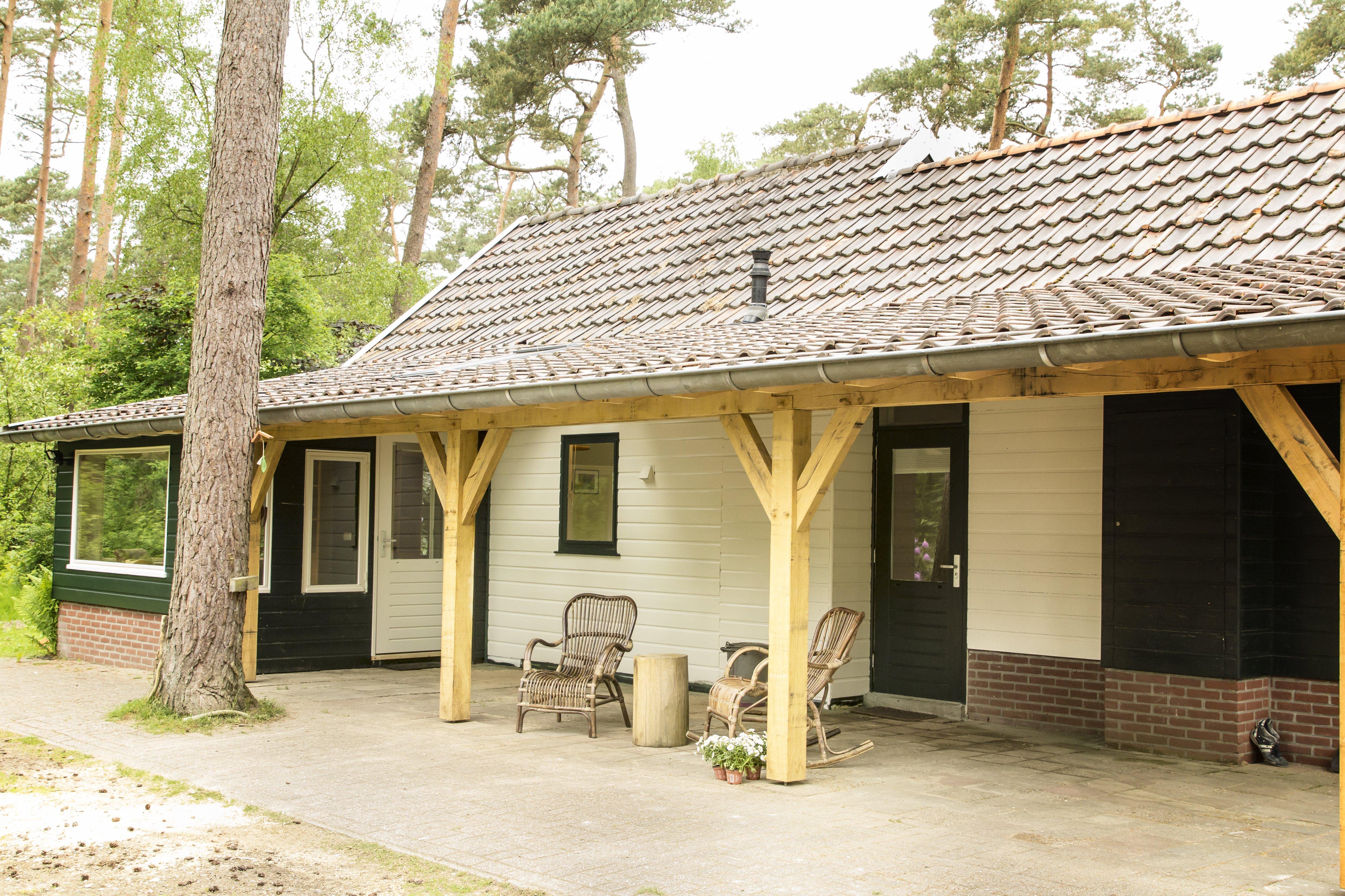 De omgeving van het schrijvershuisje lutterzand