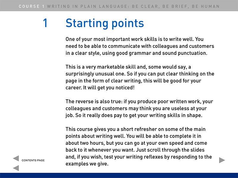 Course slide 2