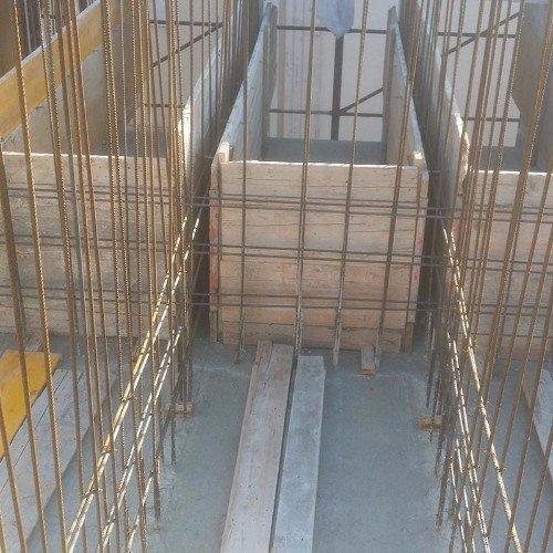Costruendo un edificio con cemento armato