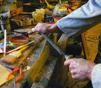 laboratorio di falegnameria a Pistoia