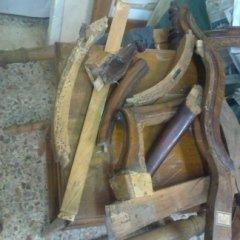 restauro poltroncina luigi filippo