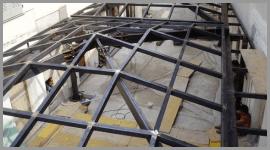 strutture metalliche coperture