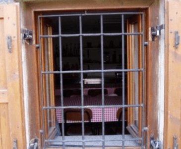 Grate di sicurezza fisse per finestre bergamo
