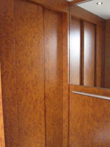rivestimento interno stile legno