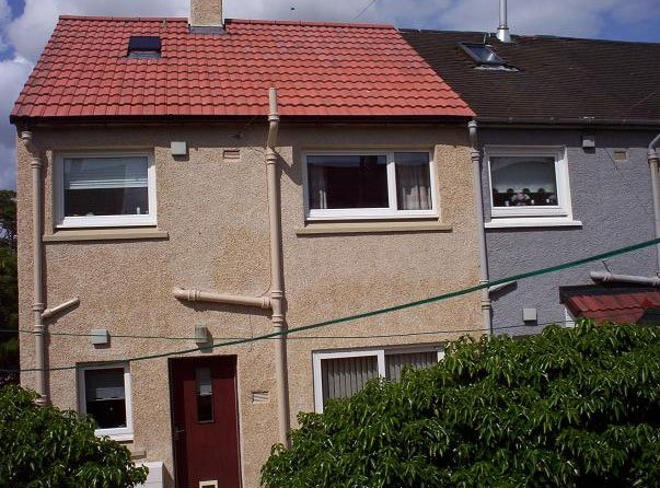 domestic tile roofing