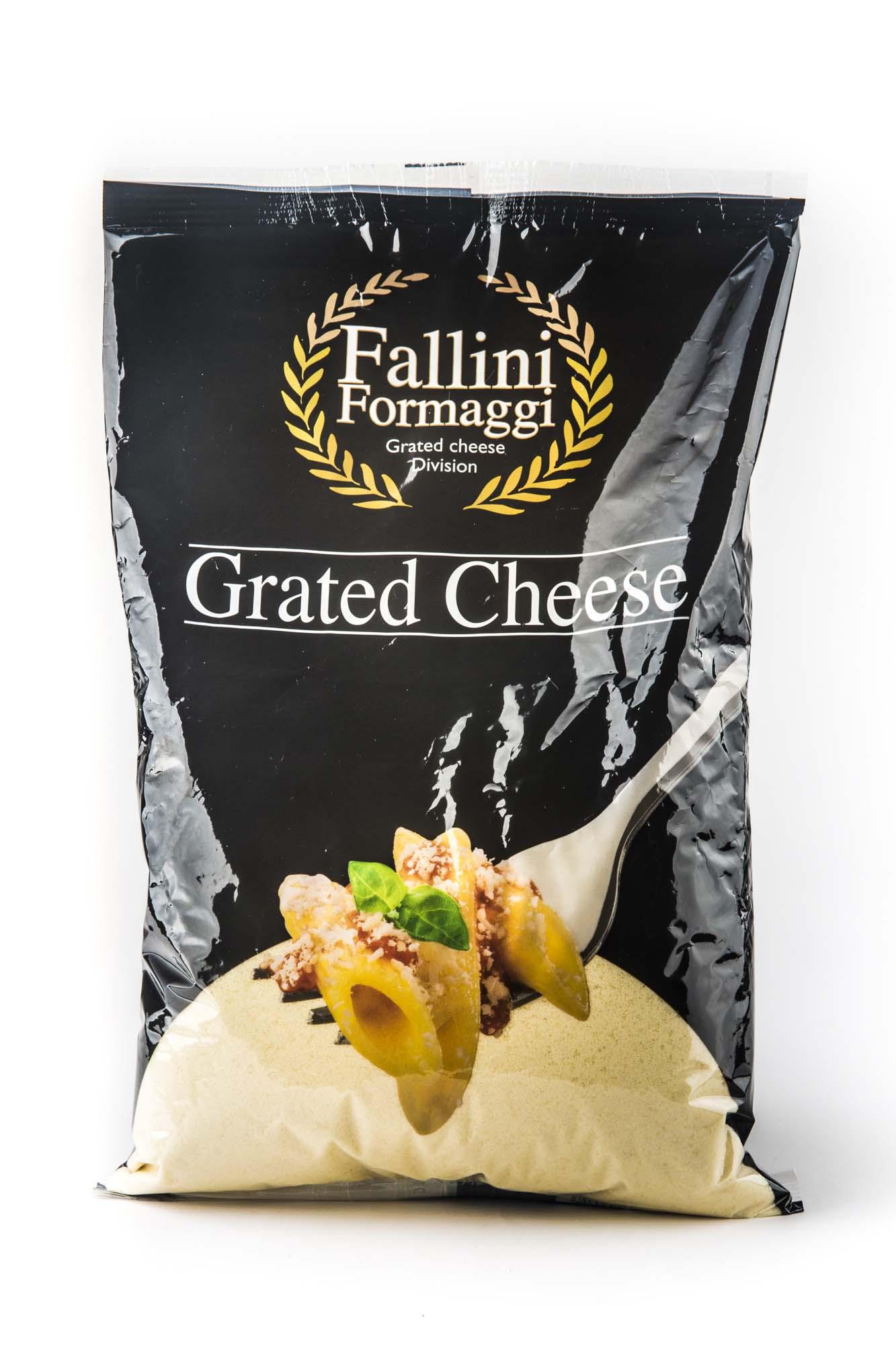 Busta da 100gr di formaggio grattuggiato - Fallini Formaggi