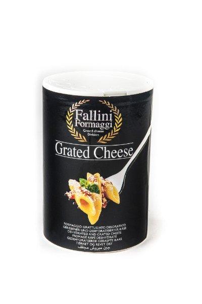 Shaker da 250gr di formaggio grattuggiato - Fallini Formaggi