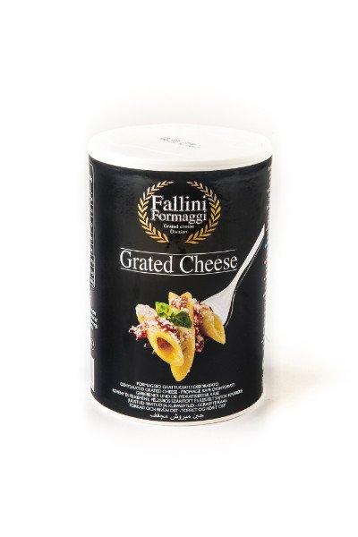 Barattolo da 250gr di formaggio grattuggiato Fallini