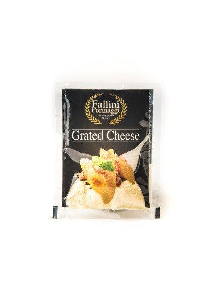 Busta da 40gr di formaggio grattuggiato - Fallini Formaggi