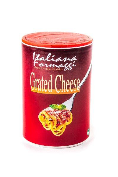 Shaker da 250gr di formaggio grattuggiato - Italiana Formaggi