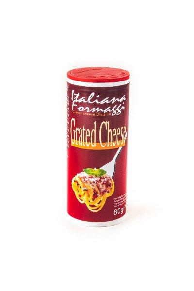 Shaker da 80gr di formaggio grattuggiato - Italiana Formaggi