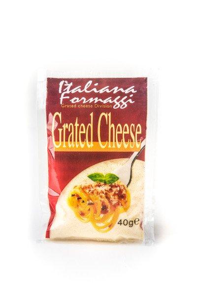Busta da 40gr di formaggio grattuggiato - Italiana Formaggi