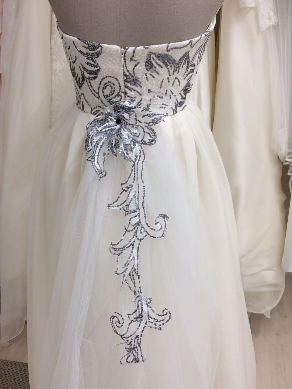 abito da sposa scivolato
