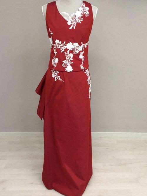 Vestito rosso Classic
