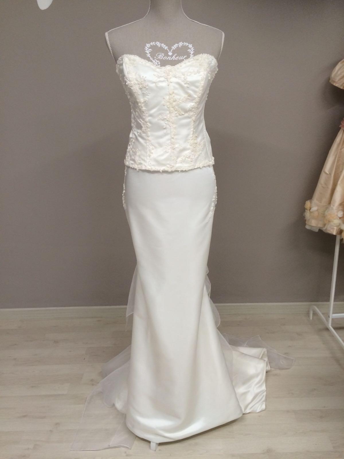 vestito da sposa liscio