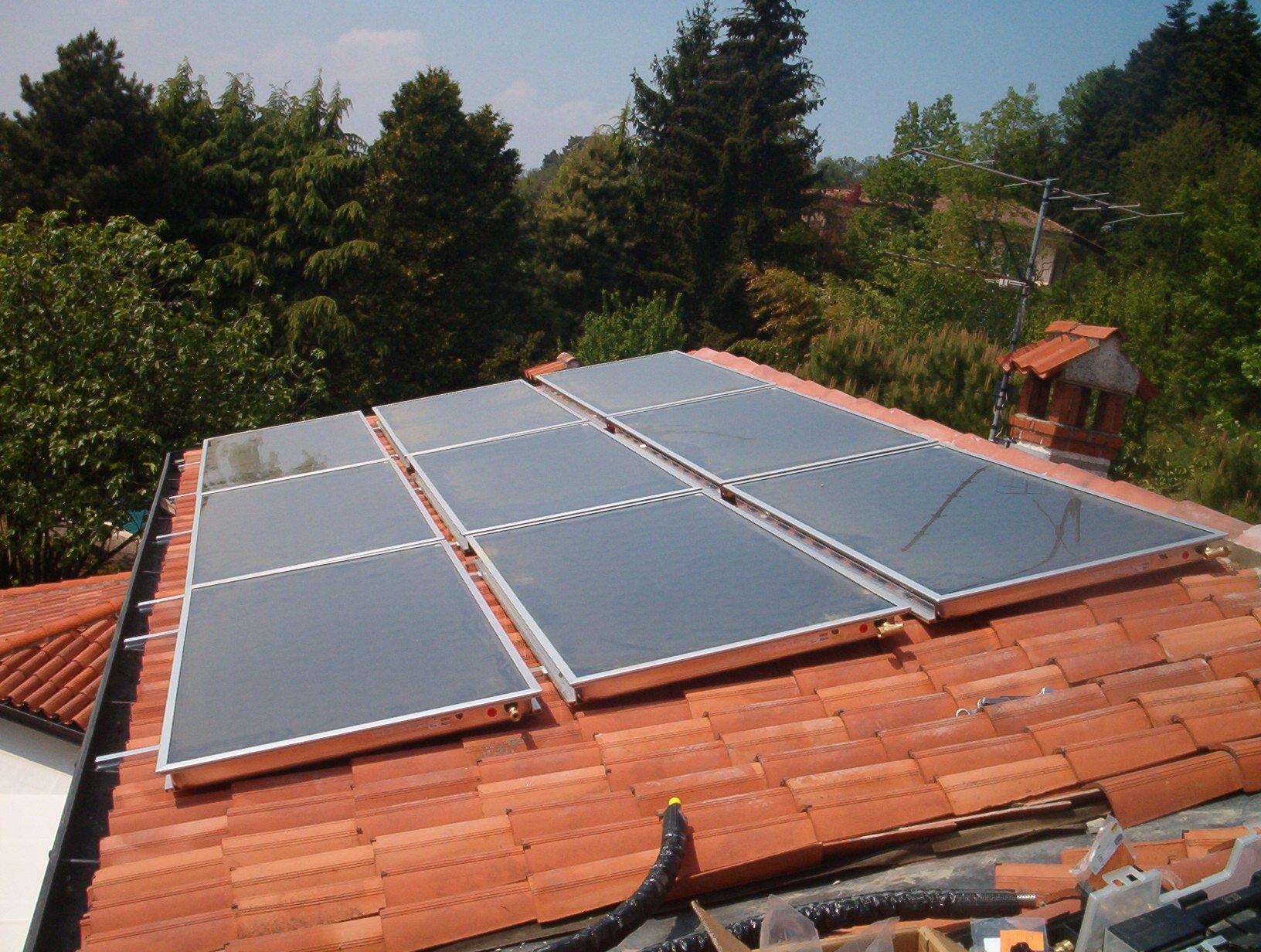 Impianto solare installato dalla nostra azienda.