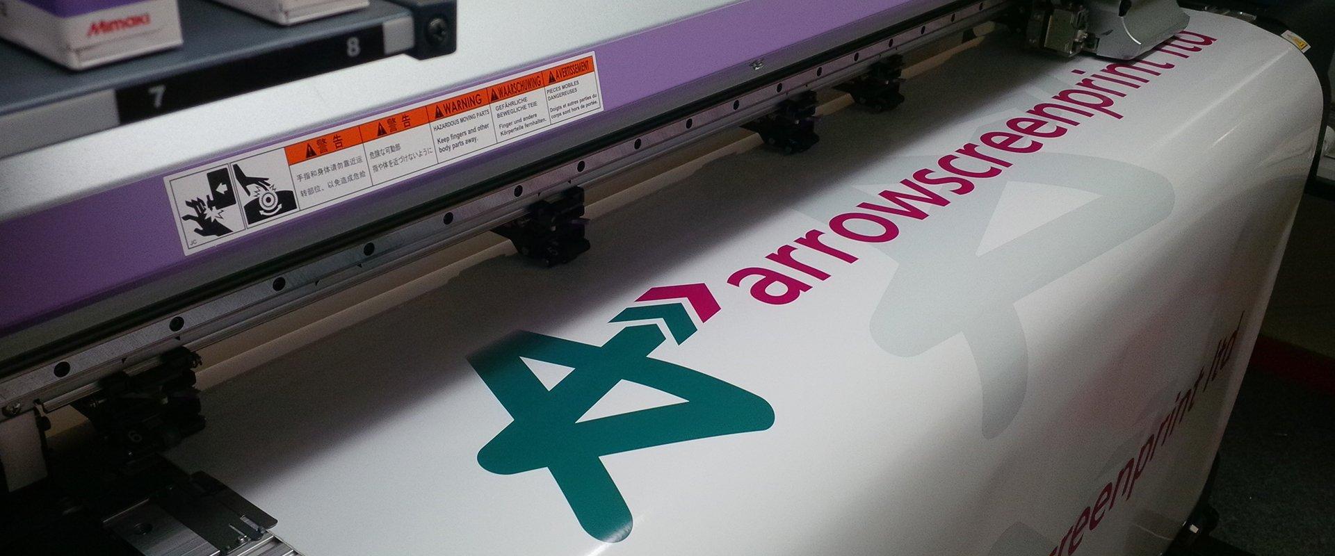 Arrow screen print ltd board