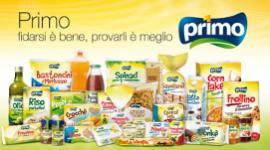 prodotti alimentari a marchio proprio, prodotti selezionati dalla casa madre, prodotti a marchi Primo
