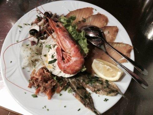 menu di pesce torino