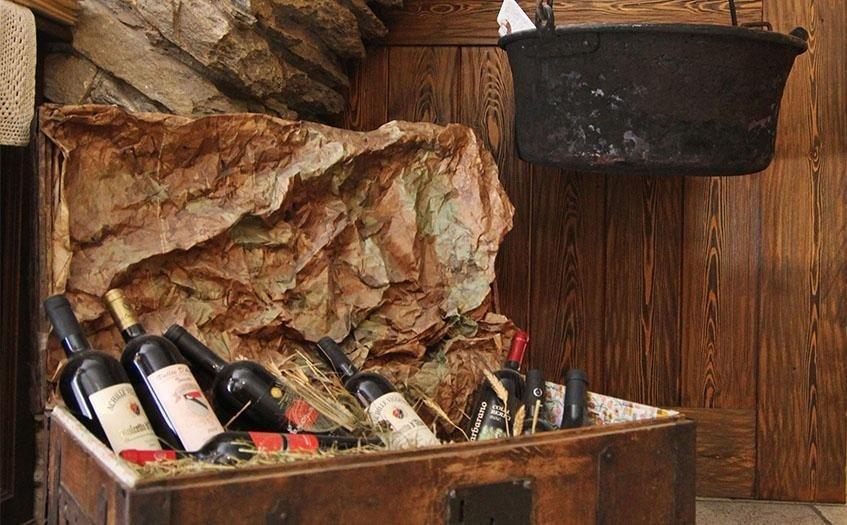 Ristorante Aosta le cave di Tillier