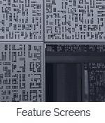 shutterflex feature screen tile