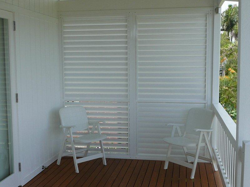 Balcony Shutters Brisbane And The Gold Coast Shutterflex