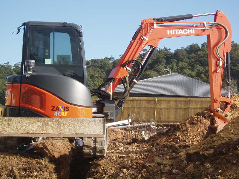 Equipment of expert excavation services in Gold Coast