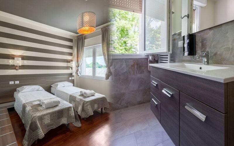 Nuovissimi camera e bagno