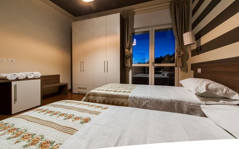 Details of the Le Colline double room