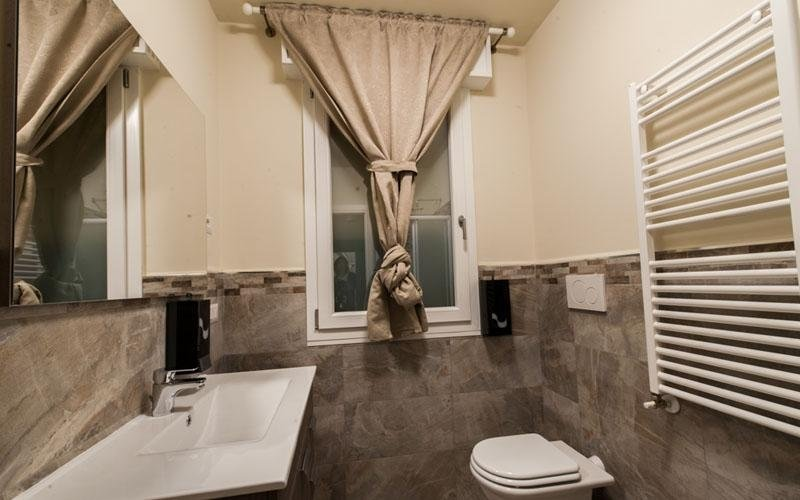 Dettaglio del bagno privato Milano