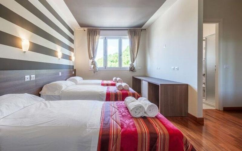 Large comfortable room for three people
