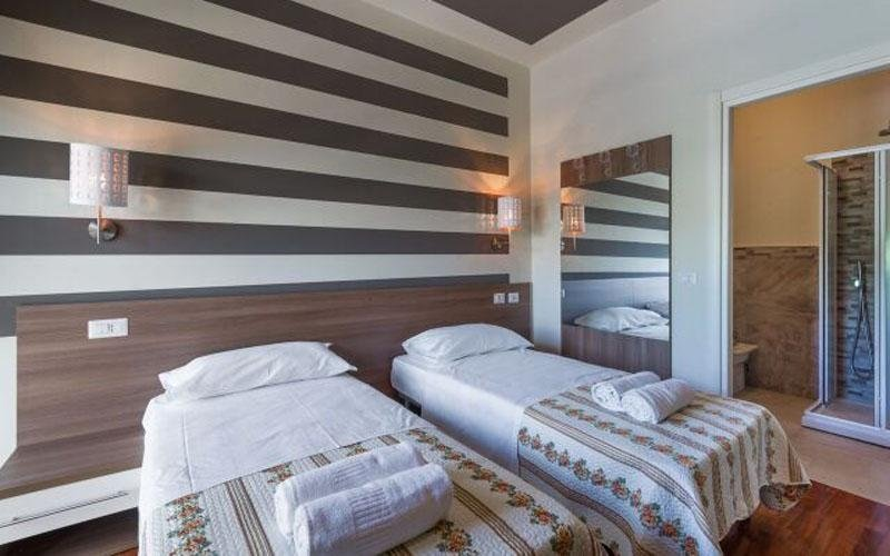 Comfortable room for two: book now
